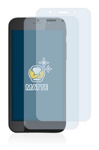 BROTECT Schutzfolie »für Shiftphones Shift5me«, (2 Stück), Folie Schutzfolie matt entspiegelt
