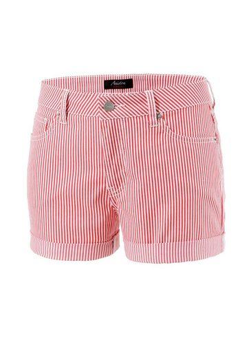 Aniston CASUAL Shorts im Streifen-Look