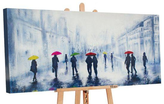 YS-Art Gemälde »Herbstregen II 148«