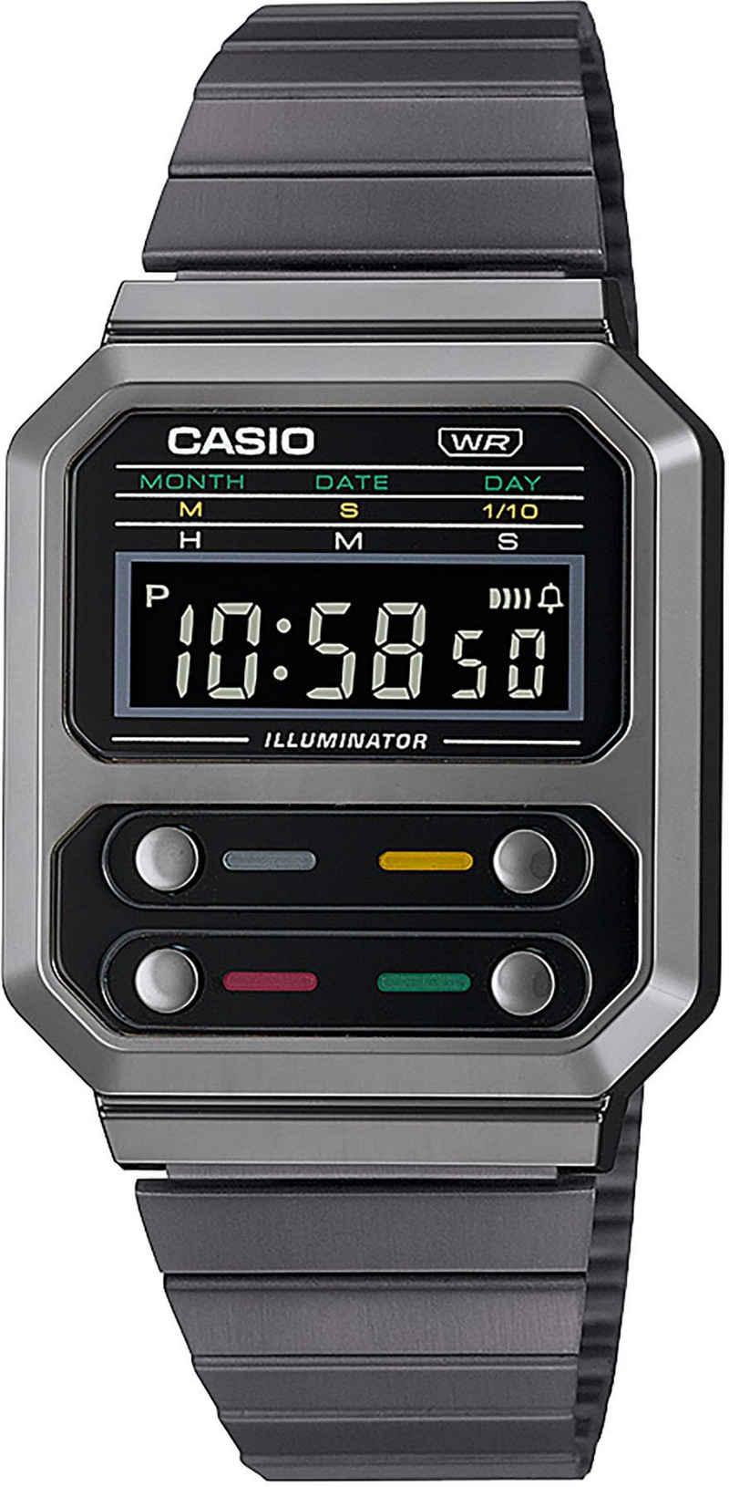 CASIO VINTAGE Chronograph »A100WEGG-1AEF«