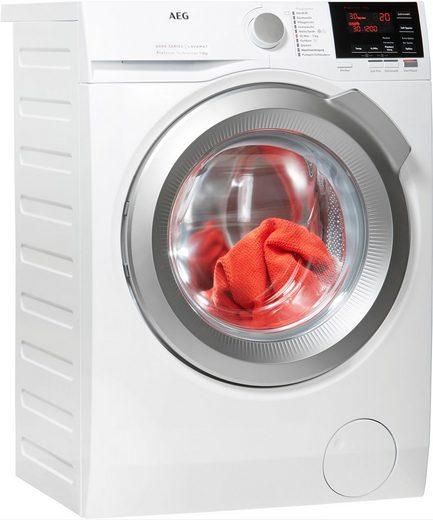 AEG Waschmaschine 6000 L6FBA48, 8 kg, 1400 U/min, ProSense - Mengenautomatik