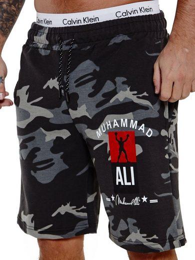OneRedox Shorts »SH-3726« (Kurze Hose Bermudas Sweatpants, 1-tlg., im modischem Design) Fitness Freizeit Casual