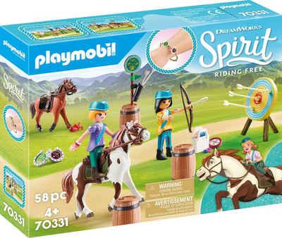 Playmobil® Konstruktions-Spielset »Abenteuer im Freien (70331), Spirit Riding Free«, (58 St), Made in Europe