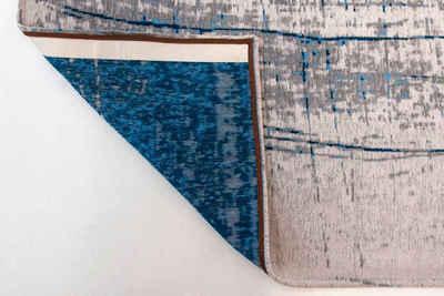 Teppich »GRIFF«, louis de poortere, rechteckig, Höhe 3 mm, Flachgewebe, modernes Design, 85% Baumwolle, Wohnzimmer