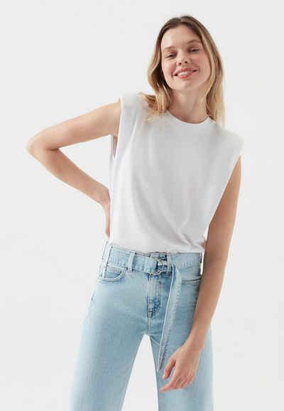 Mavi T-Shirt »SLEEVELESS TOP« Ärmelloses Shirt