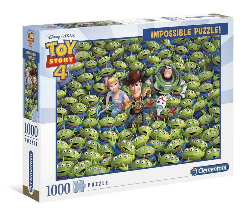 Clementoni® Puzzle »39499 Toy Story 4 Impossible 1000 Teile Puzzle«, 1000 Puzzleteile