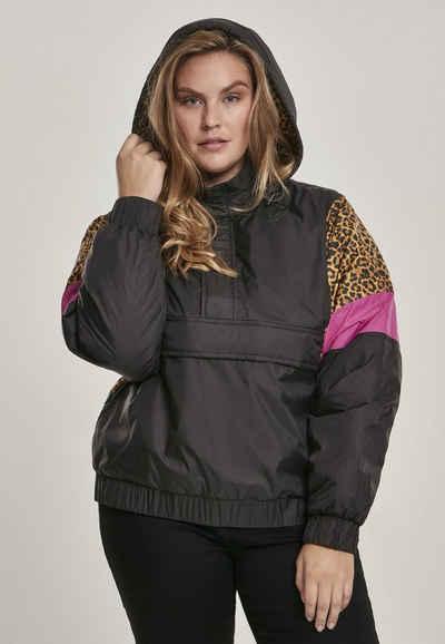 URBAN CLASSICS Allwetterjacke »Ladies AOP Mixed Pull Over Jacket«