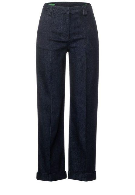 Hosen - Cecil Loose fit Jeans mit Bügelfalte ›  - Onlineshop OTTO