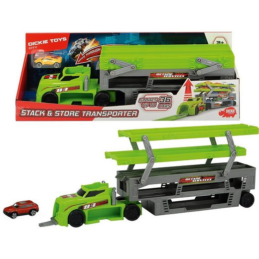Dickie Toys Spielzeug-Auto »Stack and Store Transporter«