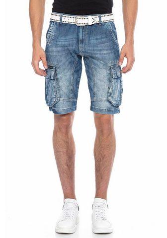 Cipo & Baxx Cipo & Baxx kišenėti šortai su markant...