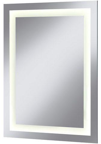 welltime LED-Lichtspiegel »Miami« BxH: 60 x 80 ...