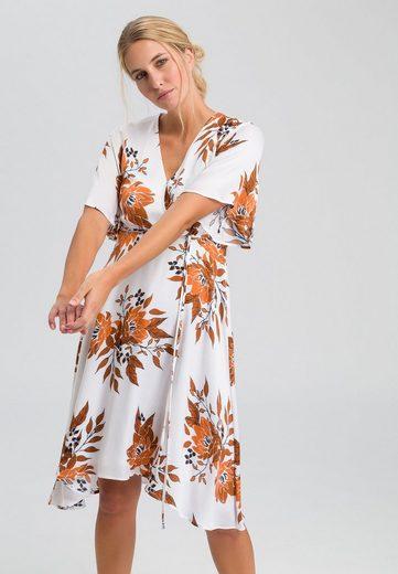 MARC AUREL Blusenkleid mit Blumen-Alloverprint