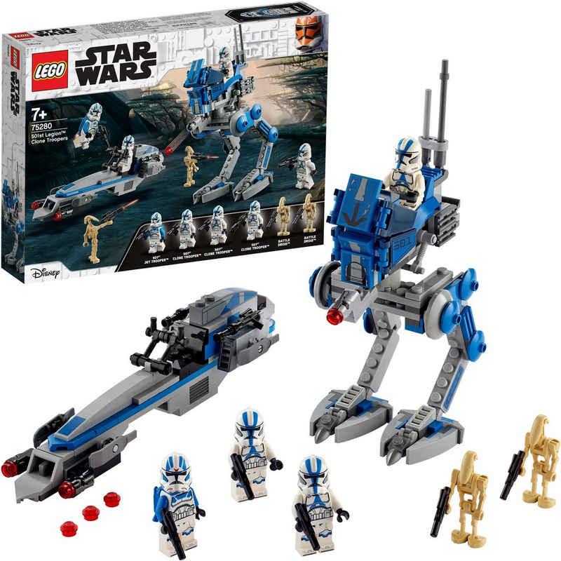 LEGO® Konstruktionsspielsteine »Clone Troopers™ der 501. Legion™ (75280), LEGO® Star Wars™«, (285 St), Made in Europe