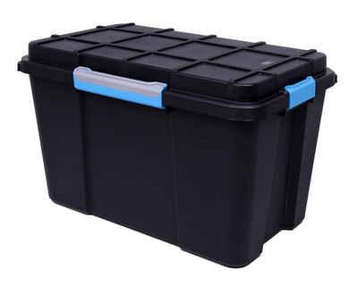 ONDIS24 Aufbewahrungsbox »Multifunktionsbox Scuba XL wasserdicht Outdoor Kiste Box abschließbar«