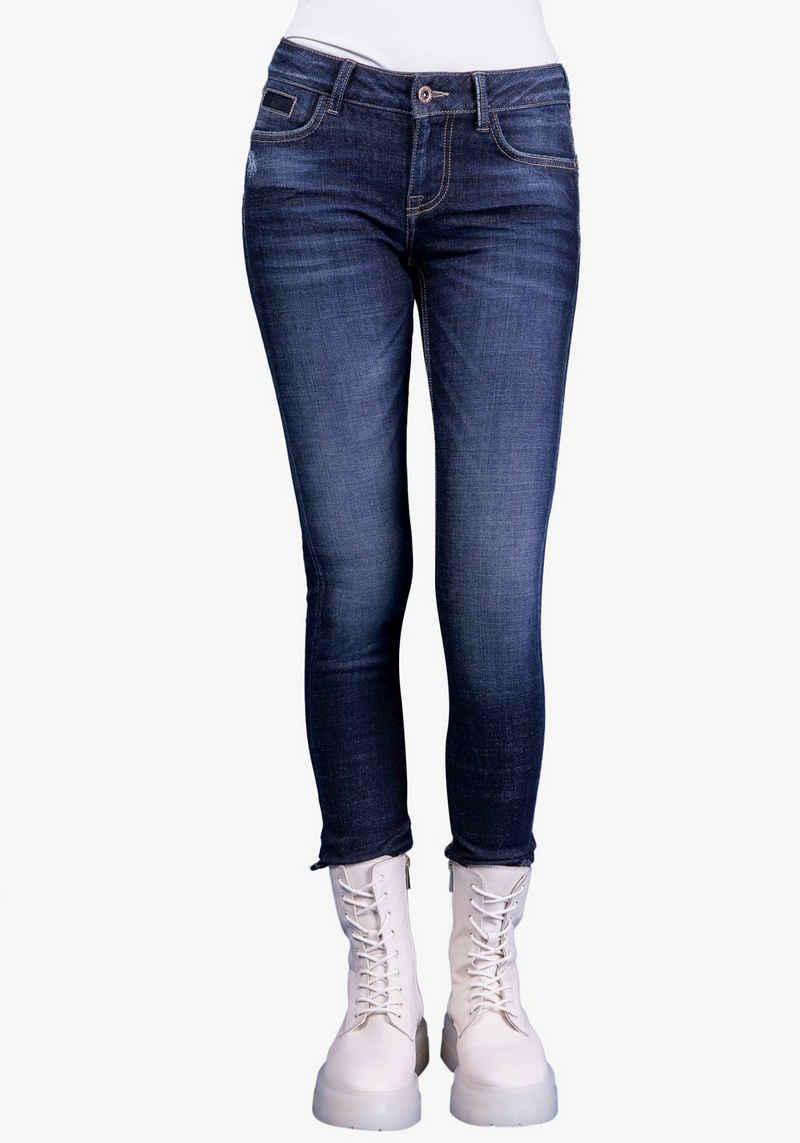 BLUE FIRE Skinny-fit-Jeans »ALICIA-BF« Rundverlaufender Jeanssattel formt einen knackigen Po