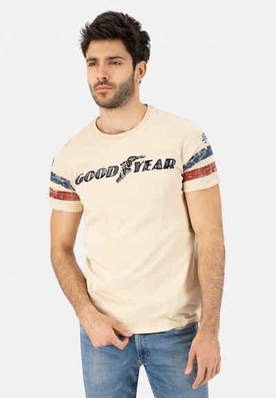 Goodyear T-Shirt »GRAND BEND« mit stylischem Markenprint