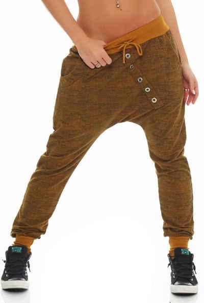 malito more than fashion Sweatpants (1-tlg) mit Knopfleiste