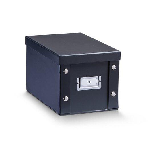 HTI-Living Aufbewahrungsbox »CD-Box, Pappe mit Beschriftungsfeld«, Aufbewahrungsbox