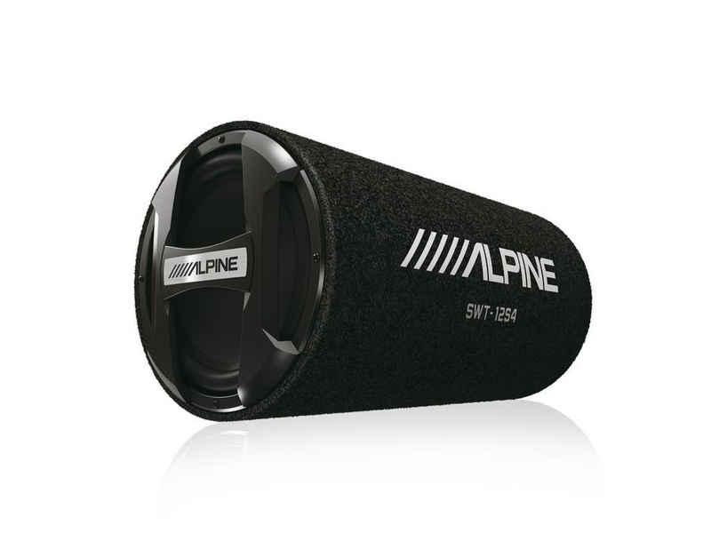 ALPINE Subwoofer (Alpine SWT-12S4 - 30cm Subwoofer Rolle Röhre Bassrolle)