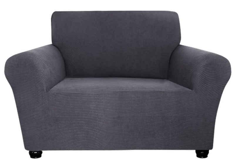 Sofahusse »1-3 Sitzer,Polar Fleece, Sesselbezug,Stretch Couch Möbelschutz Abdeckung«, Rosnek, uni