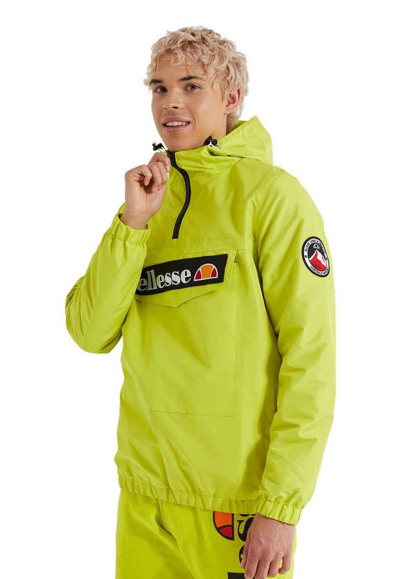 Ellesse Windbreaker »Ellesse Herren Jacke MONT 2 OH JACKET Green Gelb«
