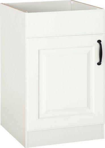 wiho Küchen Spülenschrank »Erla« 50 cm breit mit Kassettenfront, ohne Arbeitsplatte