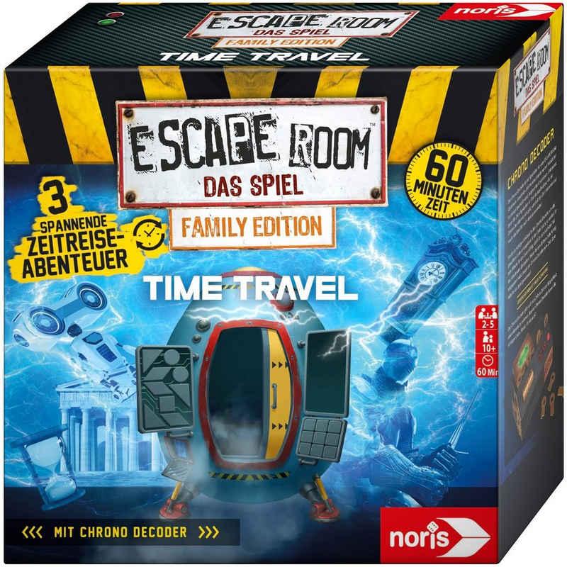 Noris Spiel, Strategiespiel »Escape Room Time Travel«, Family Edition