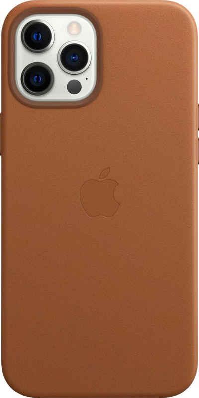 Apple Smartphone-Hülle »iPhone 12 Pro Max Leder Case mit MagSafe«