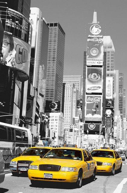 Home affaire XXL Poster, Times Square, 115/175 cm