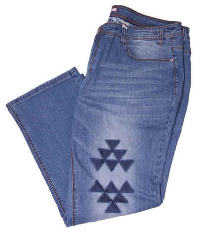 Joe Browns Regular-fit-Jeans »Joe Browns Straight-Fit-Jeans klassisch einfache Damen Freizeit-Hose Haus-Jeans Blau«
