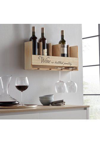 Home affaire Lentyna vynui su Halterung dėl Flasche...