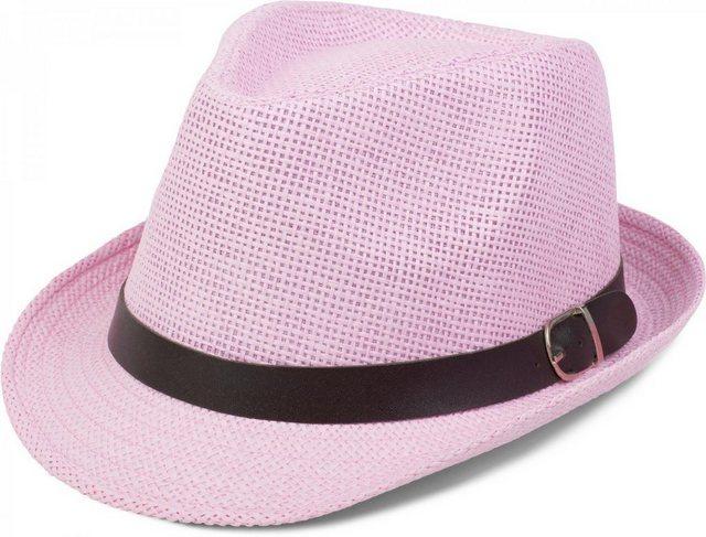 styleBREAKER Trilby »Trilby Hut mit schwarzem Gürtel Zierband« Trilby Hut mit schwarzem Gürtel Zierband   Accessoires > Hüte > Trilbys   styleBREAKER
