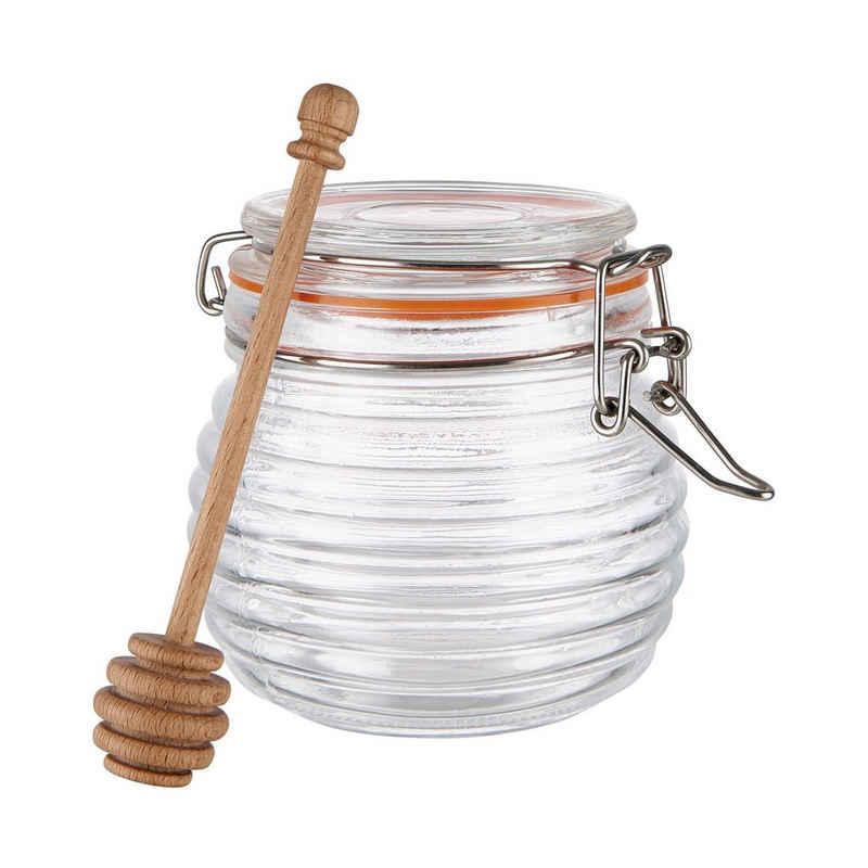 BUTLERS Honigglas »SWEET SOUL Honigtopf mit Löffel 530ml«