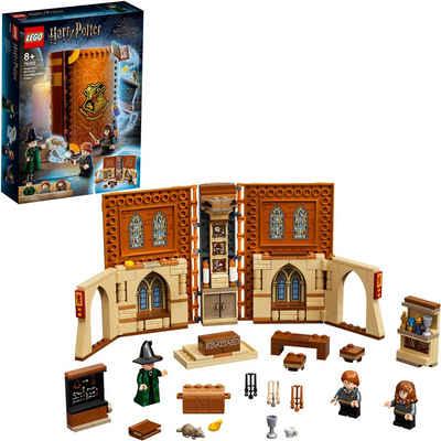 LEGO® Konstruktionsspielsteine »Hogwarts™ Moment: Verwandlungsunterricht (76382), LEGO® Harry Potter™«, (241 St), Made in Europe