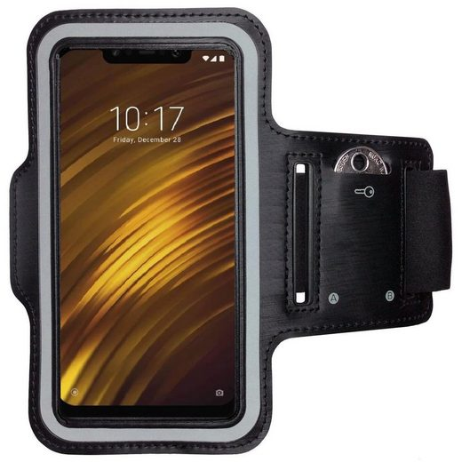 CoverKingz Handyhülle »Xiaomi Pocophone F1 Sportarmband Handy Sport Armband Fitness Armtasche« Xiaomi Pocophone F1