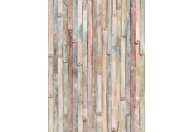 Komar Fototapete Vintage Wood, 184 x 254 cm / 4-tlg.