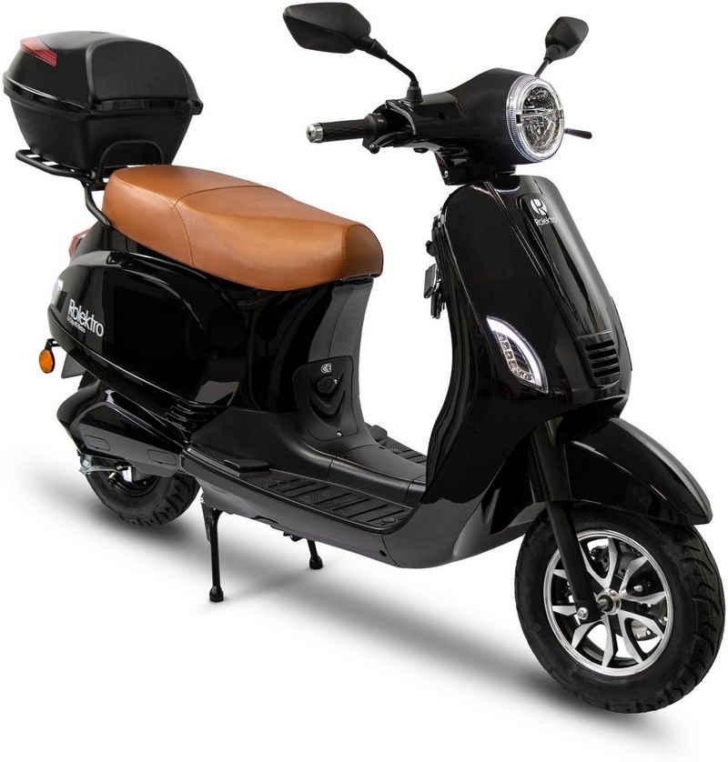 Rolektro E-Motorroller »Retro 45 Lithium, V. 2021«, 2000 W, 45 km/h
