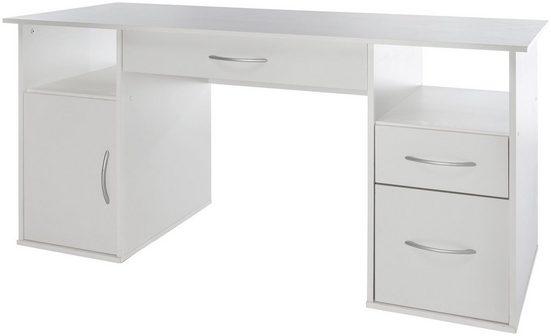 Nähmaschinen-Schreibtisch mit 4 Fächern, Maße145x60x72,5 cm
