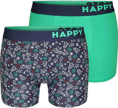 HAPPY SHORTS Trunk »2-Pack Trunks Christmas«