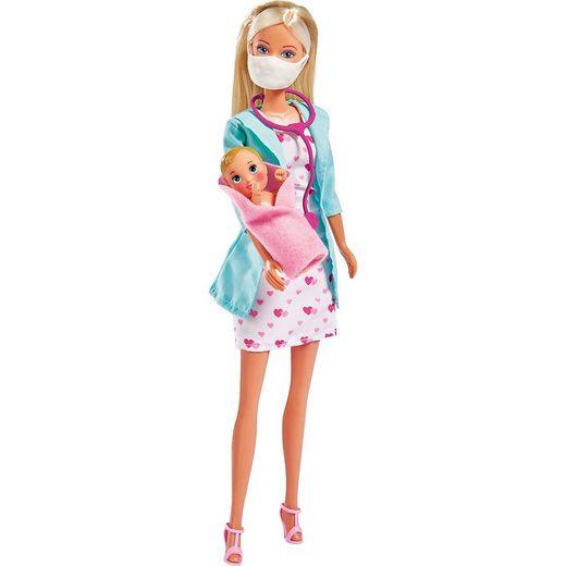 SIMBA Anziehpuppe »Steffi LOVE Baby Doctor«