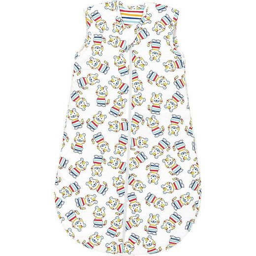 Odenwälder Babyschlafsack »Jersey-Schlafsack wattiert, wild tiger multicolor«