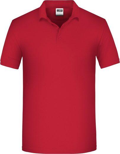 James & Nicholson Poloshirt »Bio Workwear Polo FaS50874 auch in großen Größen«
