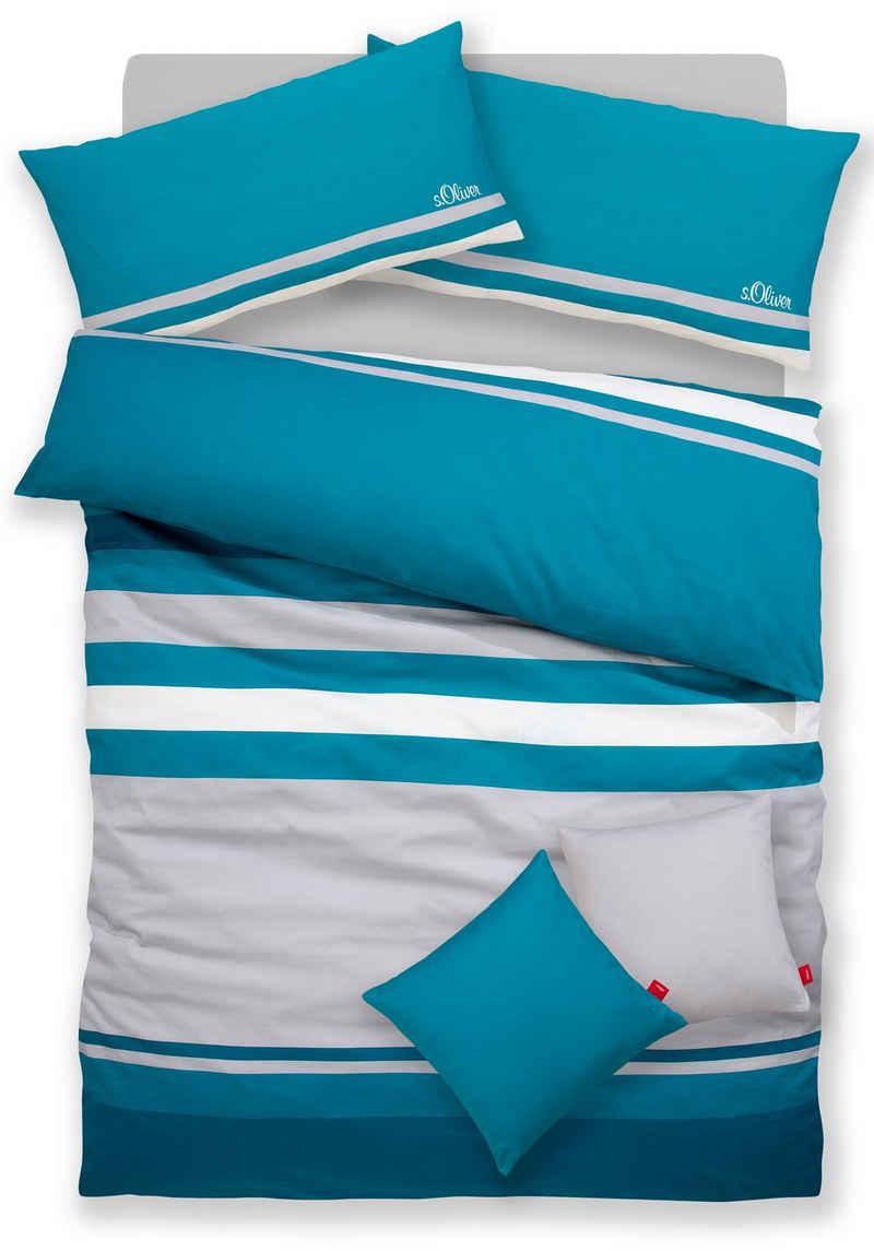 Bettwäsche »Fenja«, s.Oliver, mit zwei gratis uni Kissenbezügen