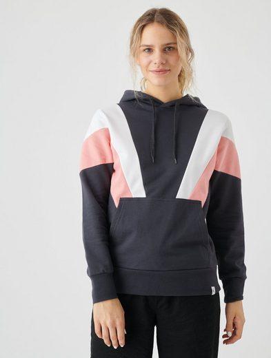 Cleptomanicx Kapuzensweatshirt »This« mit Colorblocking-Elementen