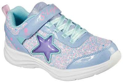 Skechers Kids »GLIMMER KICKS« Sneaker mit seitlicher Stern-Applikation