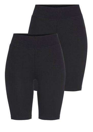 Eastwind Radlerhose »Double Pack Short Pants« (2-tlg., 2er-Pack)
