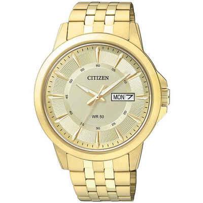 Citizen Quarzuhr »BF2013-56PE«, Herren Quarz Armbanduhr