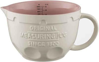 Mason Cash Messbecher, Steingut, 3-in1, zum Abmessen, Mischen und Ausgießen, 1 Liter