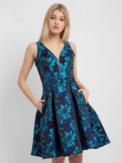 Apart Abendkleid »Abendkleid« mit glänzenden Blüten