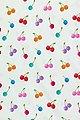 """Fräulein von Julie Stoff »Baumwoll Jersey Meterware Kirschen Bunt """"Nala"""" Blau Orange Rot Pink 145 cm«, Kinderstoff, Bild 3"""